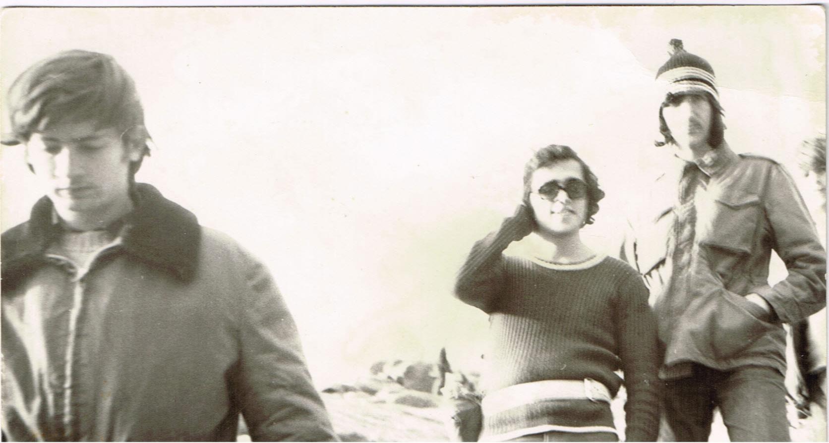 טיול לסנטה קטרינה 2-4-1974 יצחק מרקו משמאל מימין עלי עיסאם